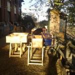 et des meubles pour la Nouvelle Rotisserie