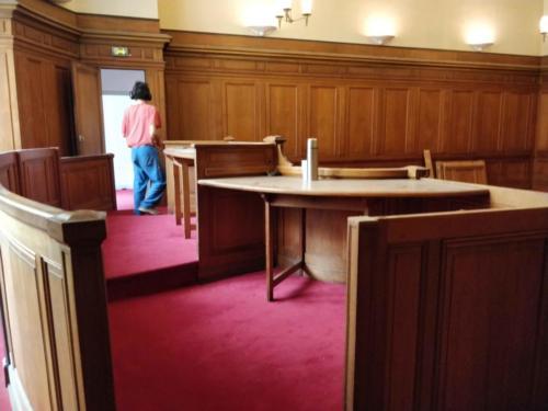 Démontage tribunal
