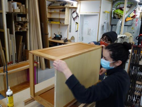 Fabrication à l'atelier