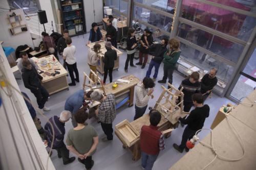 Inauguration du nouvel atelier